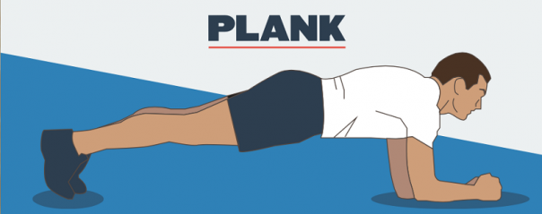 Plank de 5 minute in 30 de zile