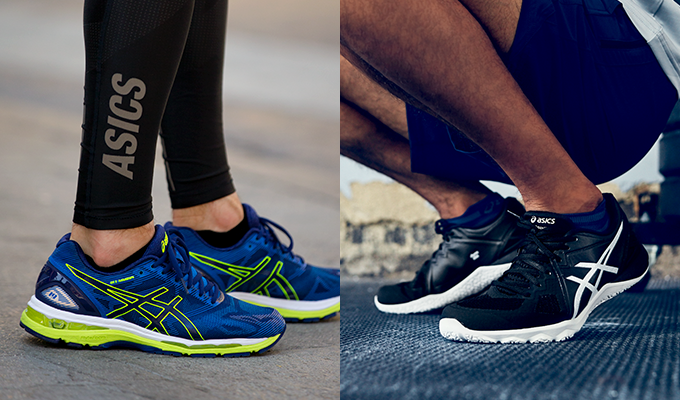 running vs. workout shoes